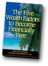 The Five Wealth Factors to Become Financially Free